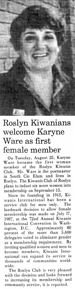 karyne-ware-1987-article-nkc-tribune-photo